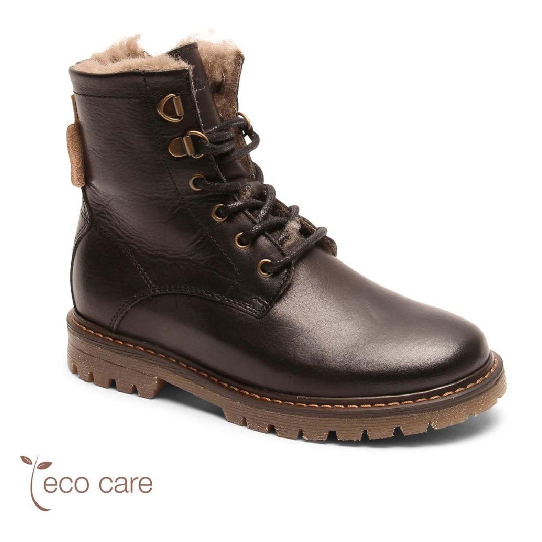 Bisgaard Dawn Stiefel Gefütterte Schuhe Leder Kinder Schuhe HW19