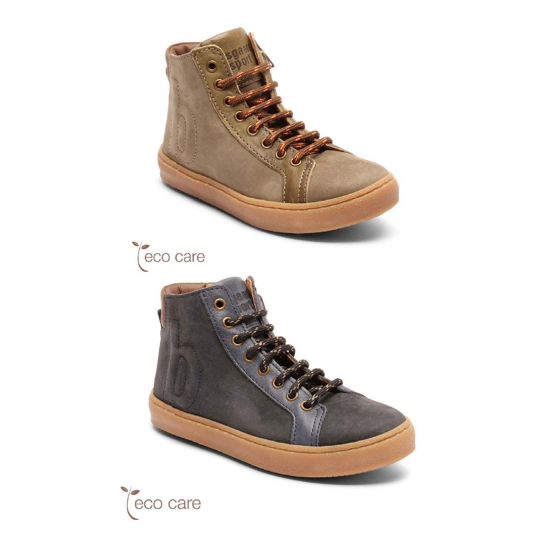 Bisgaard Hjalte Sneaker Schnürschuhe Leder Kinder Schuhe HW19