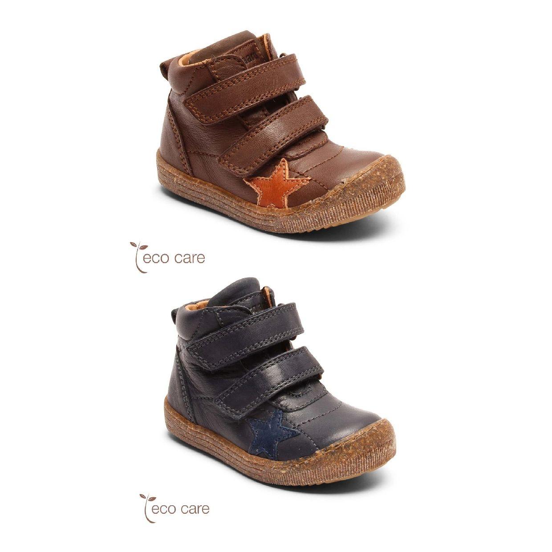 Bisgaard Jamie Stiefel Klettverschluss Leder Kinder Schuhe HW19