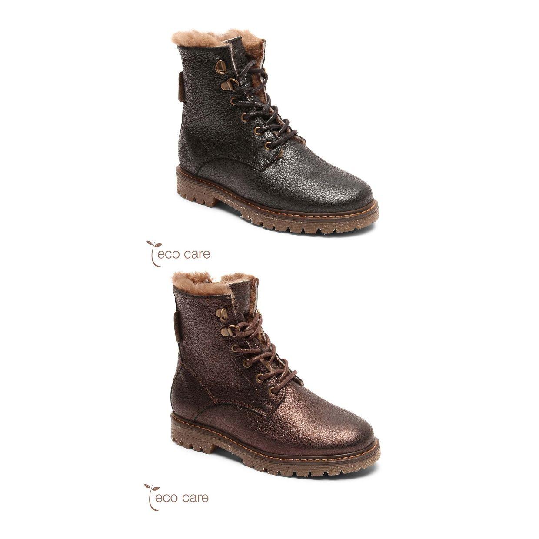 Bisgaard Maia Stiefel Gefütterte Schuhe Leder Kinder Schuhe HW19