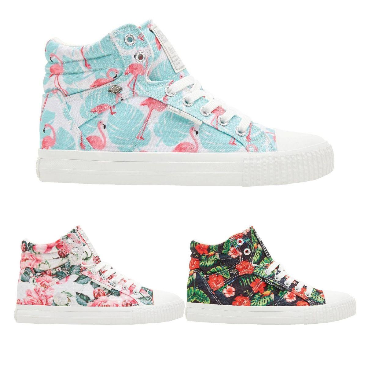 British Knights Dee Sneaker Chukkas Nylon Damen Schuhe FS19