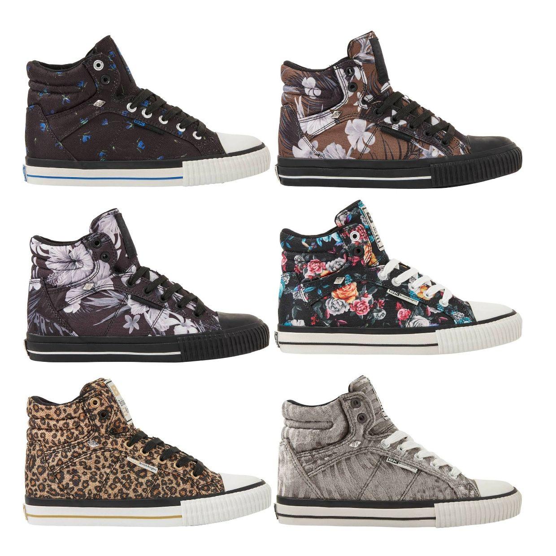 British Knights Dee Sneaker Chukkas Textil Synthetik Damen Schuhe EOL