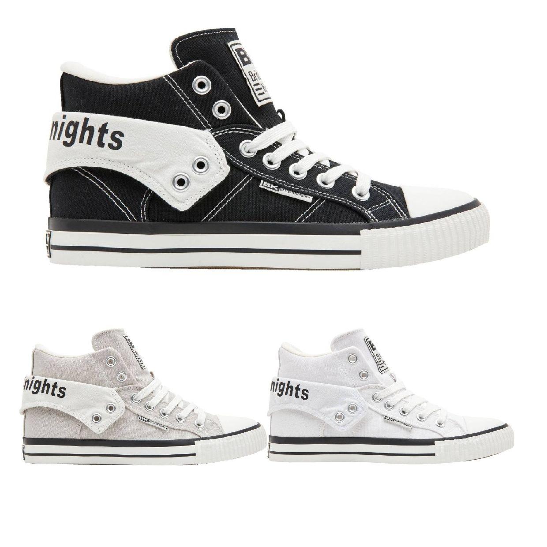 British Knights Roco Sneaker Chukkas Canvas Unisex Schuhe FS19