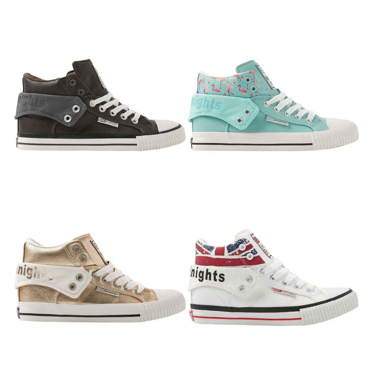 British Knights Roco Sneaker Chukkas Textil Synthetik Unisex Schuhe EOL