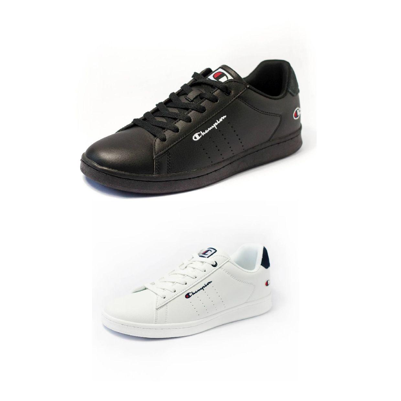 Champion Shadow PU Sneaker Halbschuhe Textil Synthetik Herren Schuhe FS19