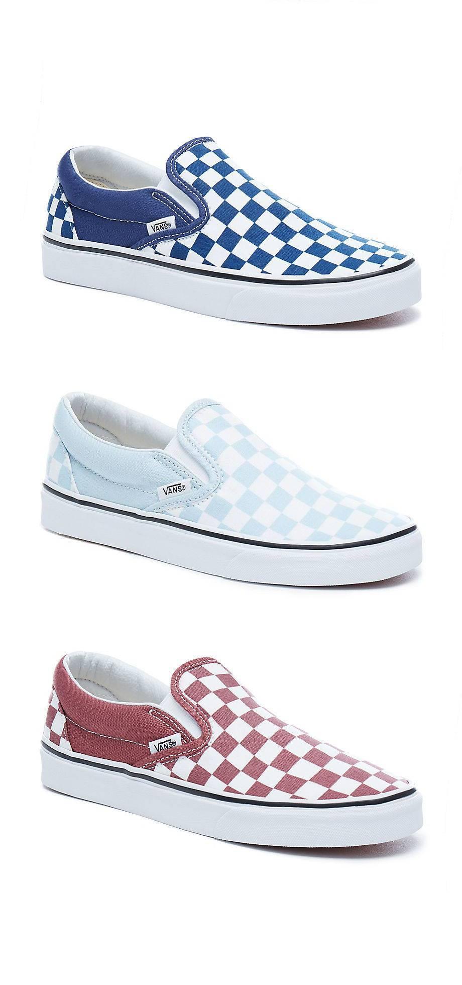 VANS Classic Slip-On Low-Cut Sneaker Freizeitschuhe Canvas Textil Schuhe