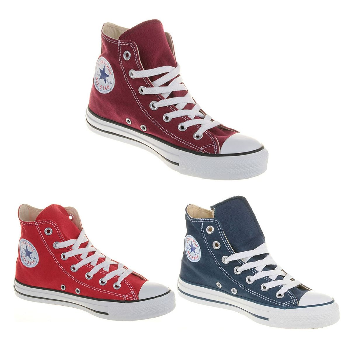 Converse Chuck Taylor All Star HI Sneaker Chukkas Canvas Unisex Schuhe CO