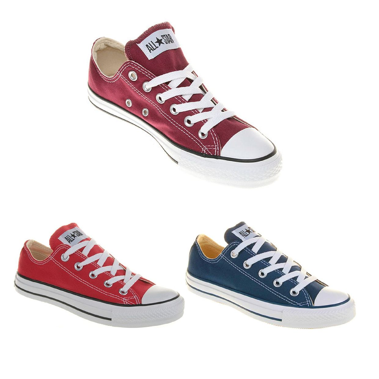 Converse Chuck Taylor All Star OX Sneaker Halbschuhe Canvas Unisex Schuhe CO