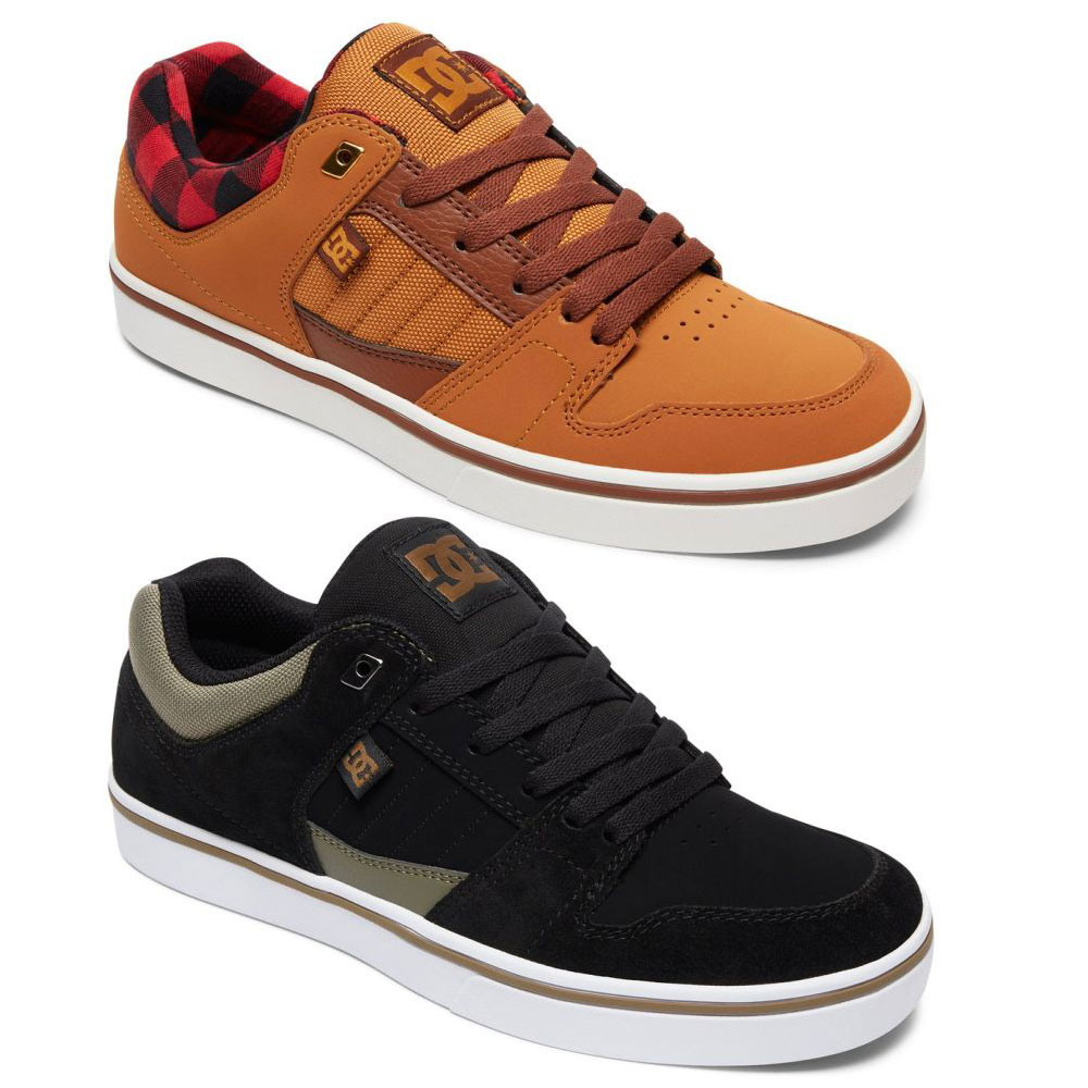 DC Shoes Course Low-Cut Sneaker Freizeitschuhe Skateschuhe Wildleder Canvas