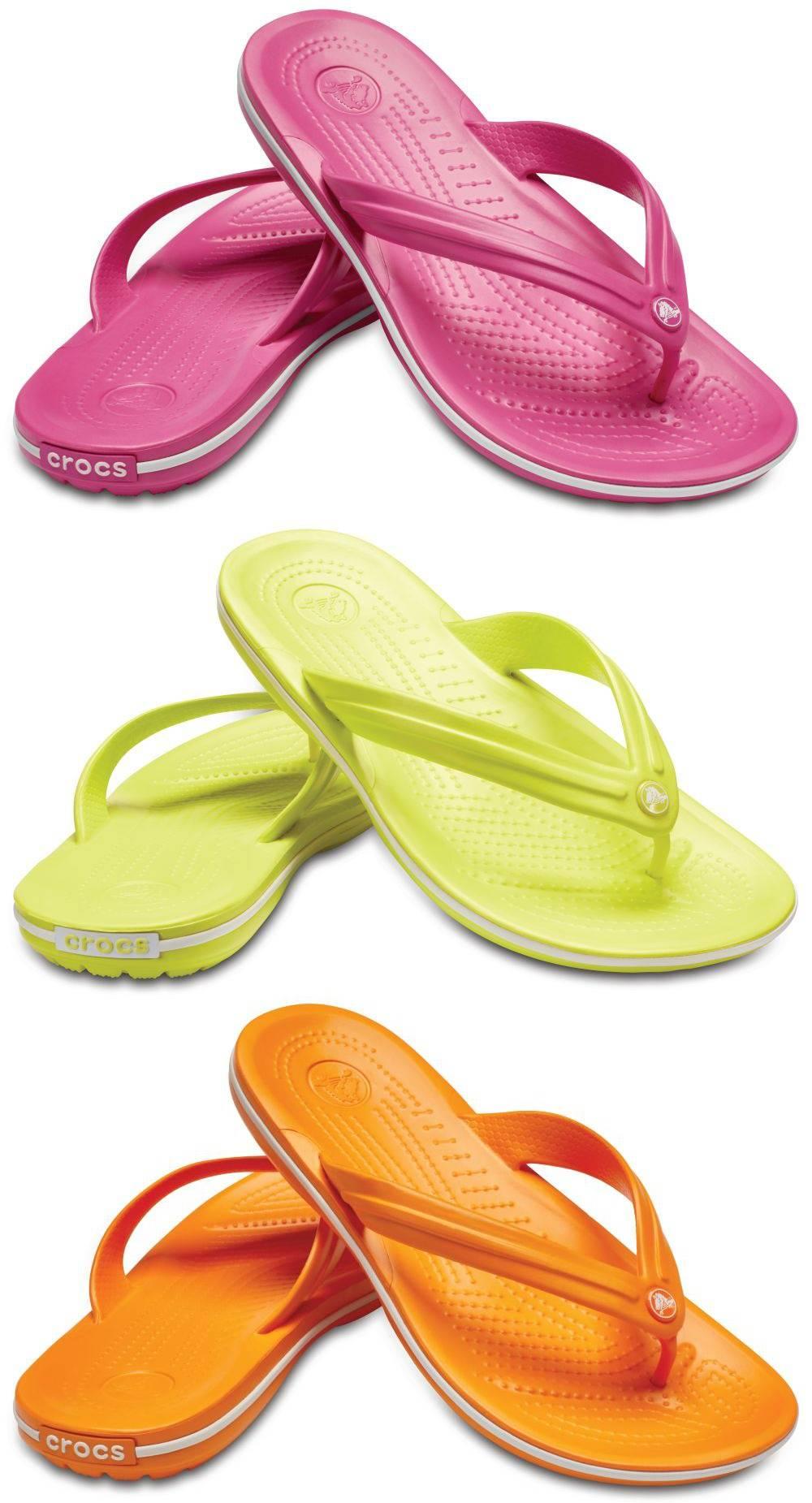 CROCS Crocband Flip Sandalen Zehentrenner Schuhe