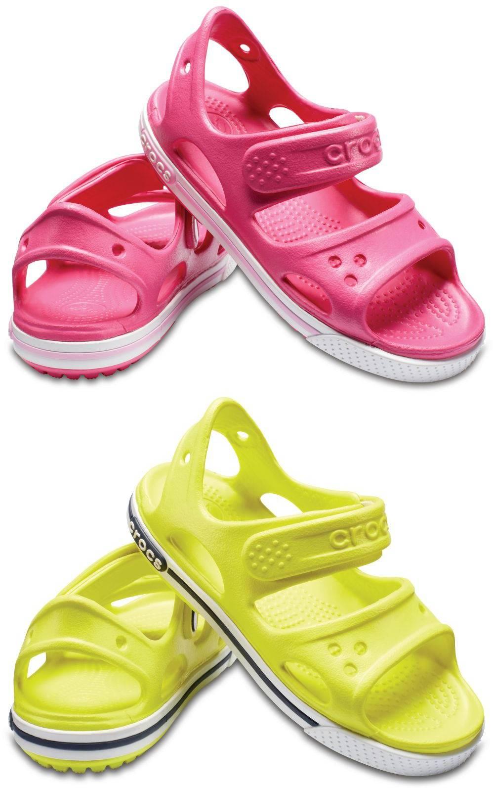 CROCS Crocband II Sandal Kids Kinder Sandalen Schuhe