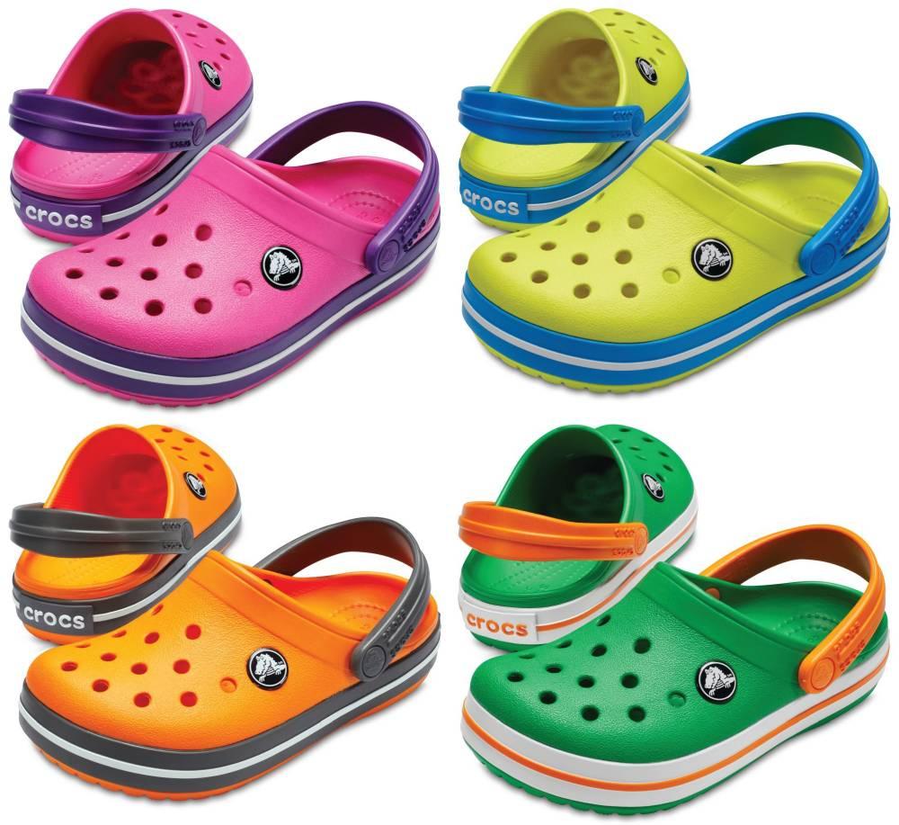 CROCS Crocband Kids Kinder Clogs Hausschuhe Gartenschuhe Freizeitschuhe Schuhe
