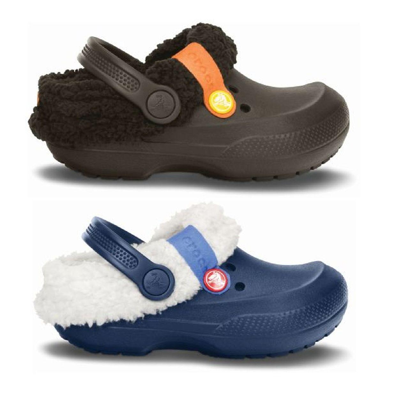 Crocs Blitzen II Clog Kids Clogs Hausschuhe Synthetik Kinder Schuhe HW15