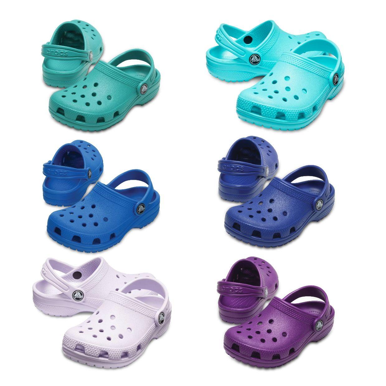 Crocs Classic Clog Kids Clogs Hausschuhe Synthetik Kinder Schuhe FS19