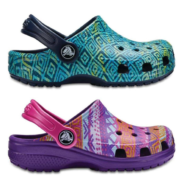 Crocs Classic Graphic Clog K Clogs Hausschuhe Synthetik Kinder Schuhe FS18