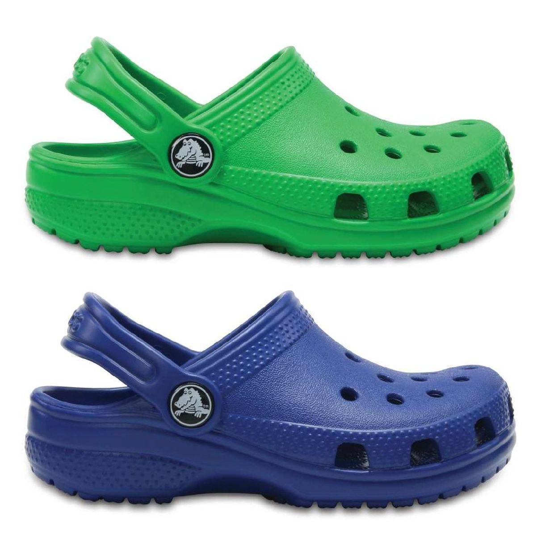Crocs Classic Kids Clogs Hausschuhe Synthetik Kinder Schuhe FS18