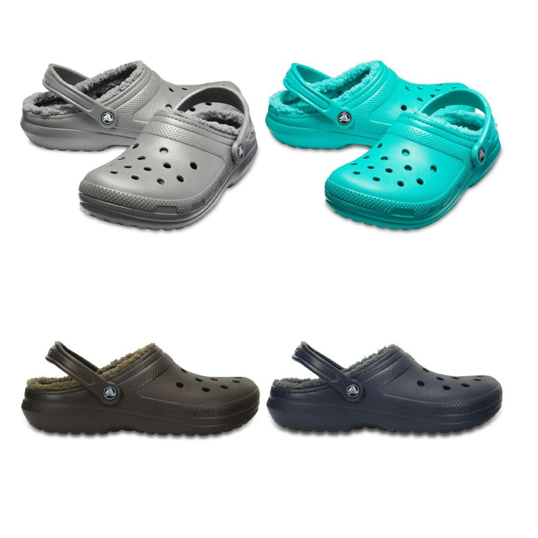 Crocs Classic Lined Clog Clogs Gefütterte Schuhe Synthetik Unisex Schuhe CO