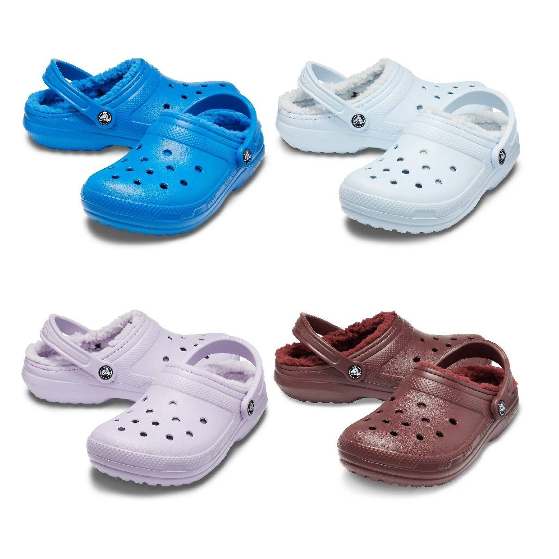 Crocs Classic Lined Clog Clogs Gefütterte Schuhe Synthetik Unisex Schuhe HW19