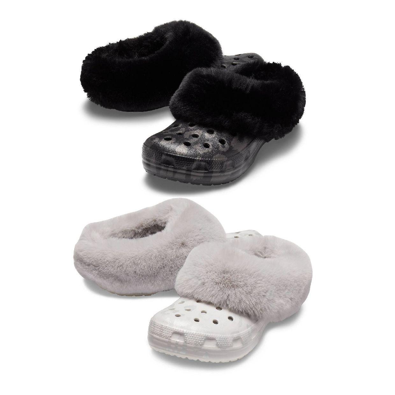 Crocs Classic Mammoth Luxe Metallic Clog Clogs Synthetik Unisex Schuhe HW19