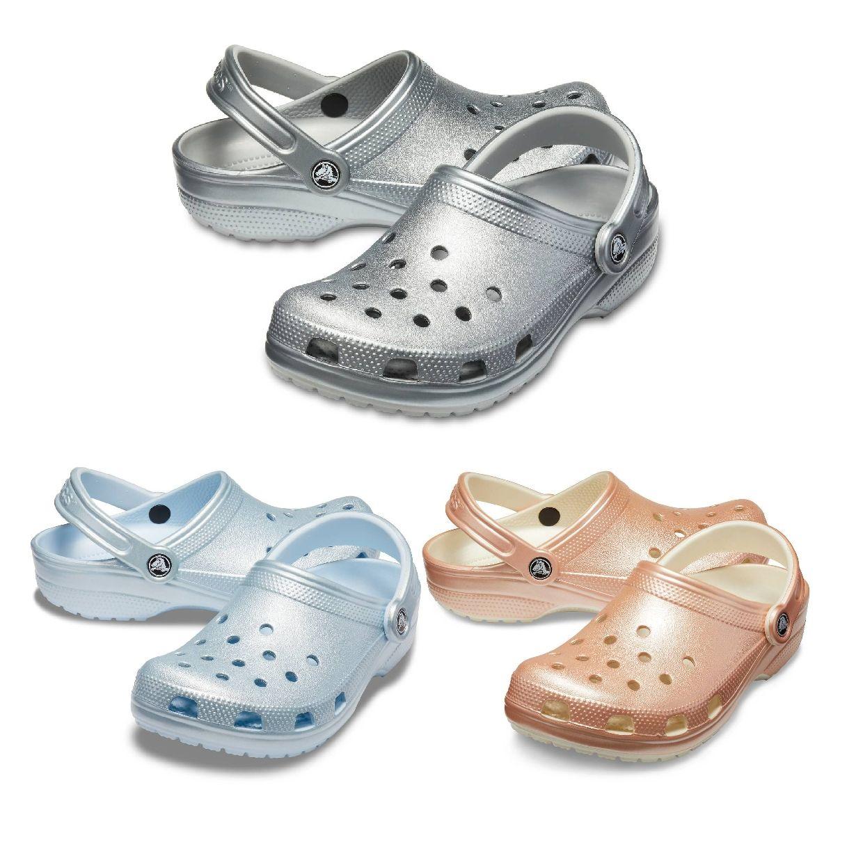 Crocs Classic Metallic Clog Clogs Hausschuhe Synthetik Unisex Schuhe HW19