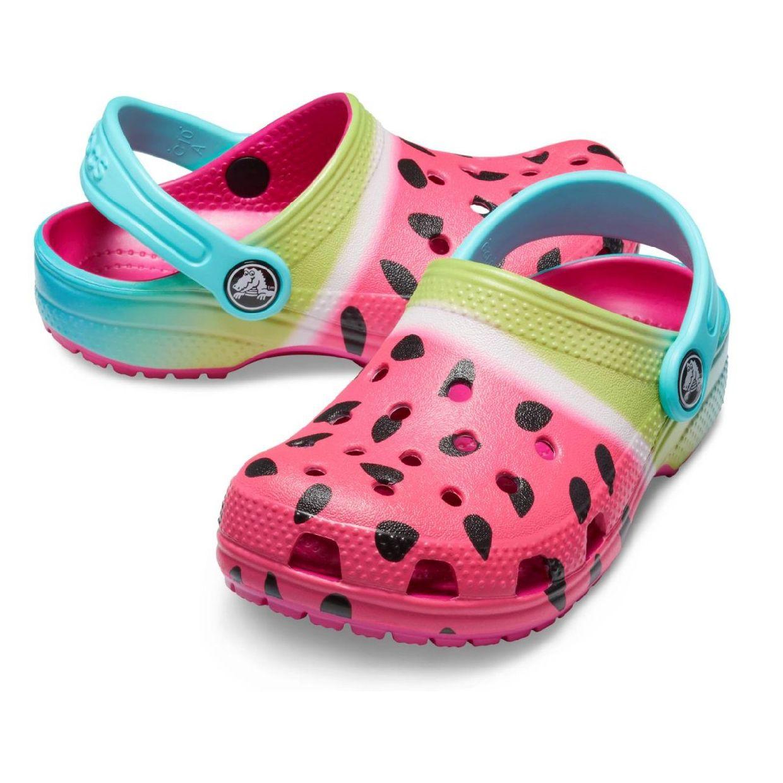Crocs Classic Ombre Graphic Clog Kids Clogs HausSynthetik Kinder FS19