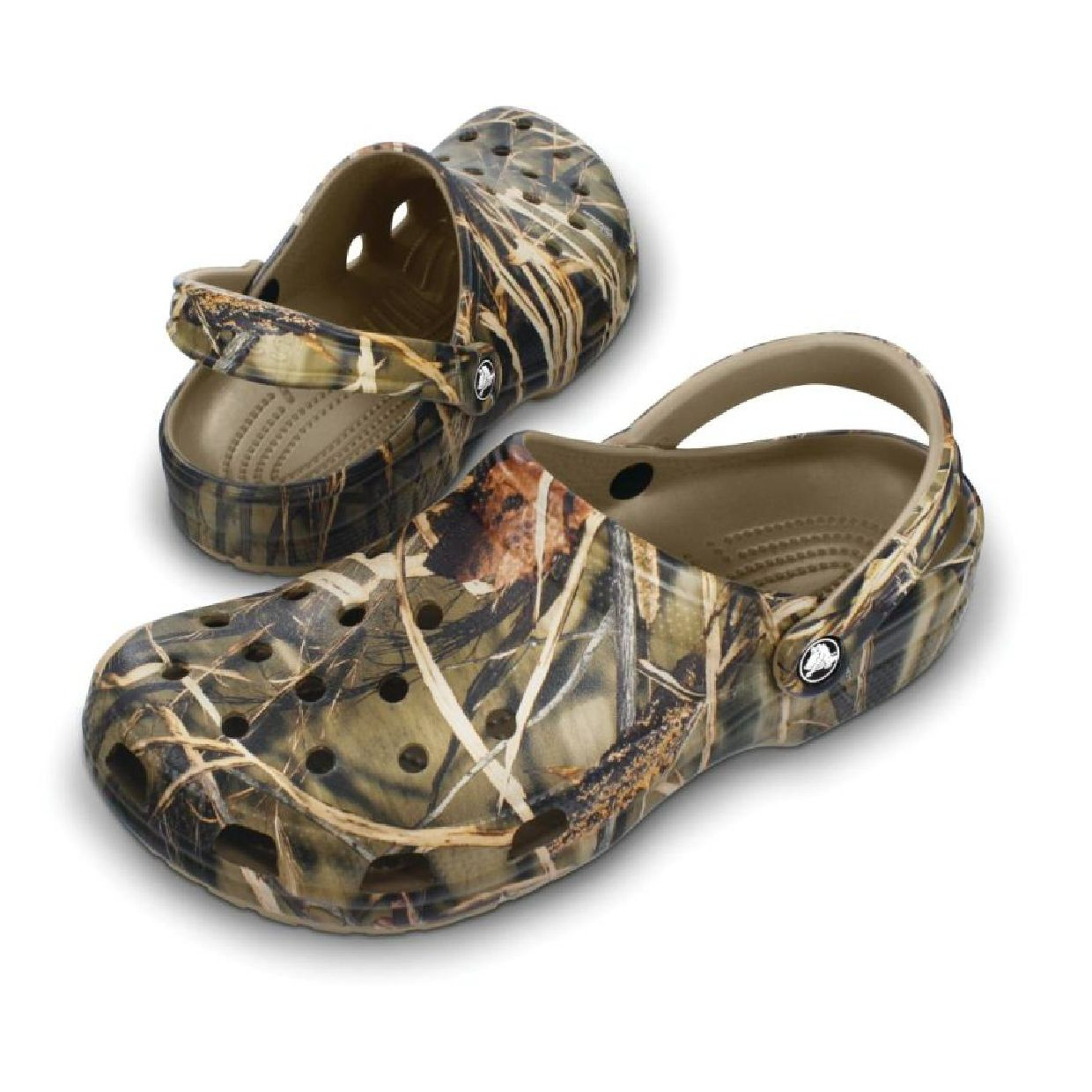 Crocs Classic Realtree Clogs Hausschuhe Synthetik Unisex Schuhe CO