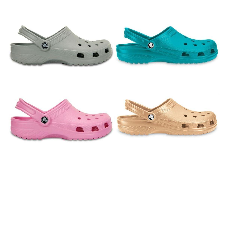 Crocs Classic Clogs Hausschuhe Synthetik Unisex Schuhe FS17