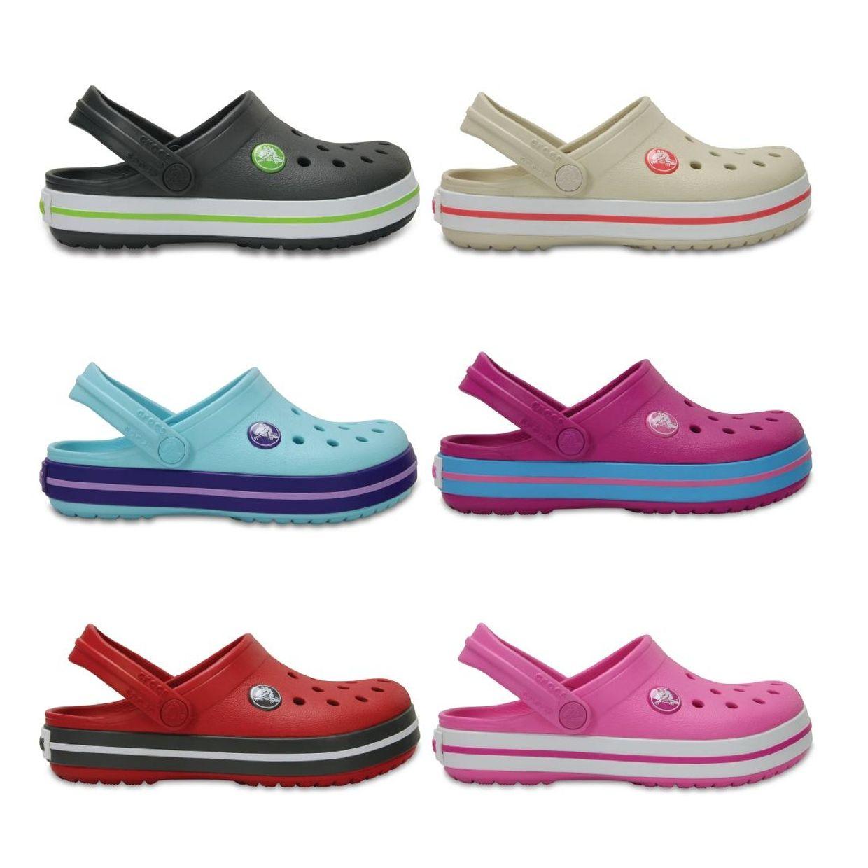 Crocs Crocband Clog Kids Clogs Hausschuhe Synthetik Kinder Schuhe FS17
