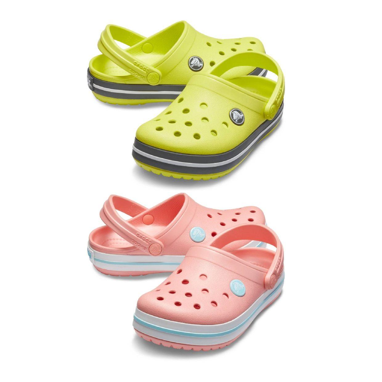 Crocs Crocband Clog Kids Clogs Hausschuhe Synthetik Kinder Schuhe FS19
