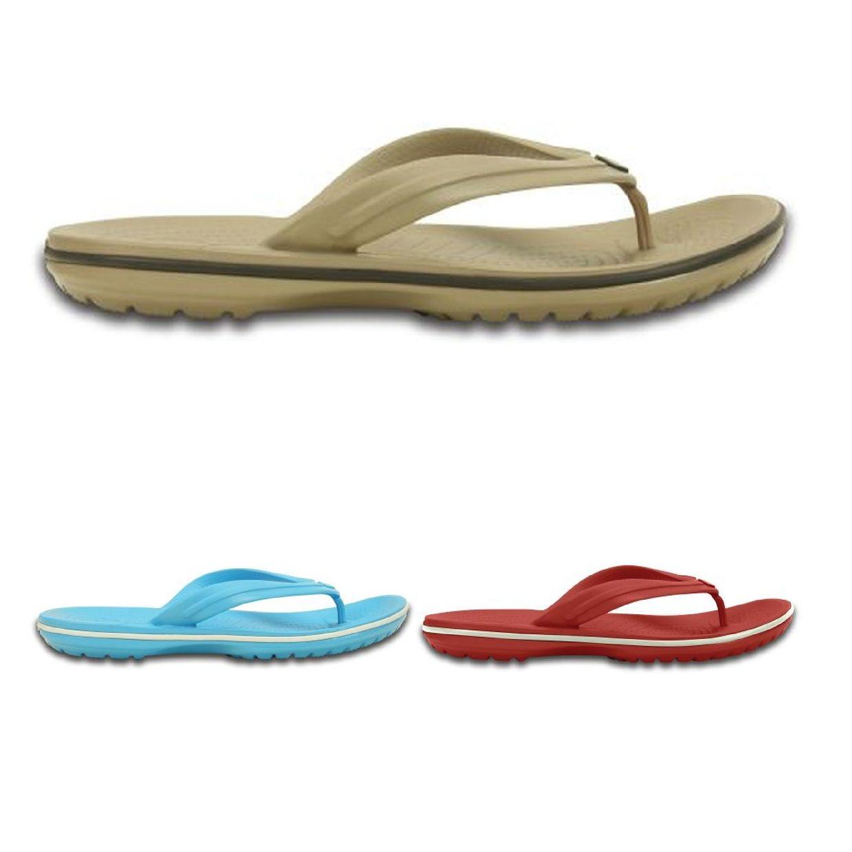 Crocs Crocband Flip Sandalen Zehentrenner Synthetik Unisex Schuhe FS13