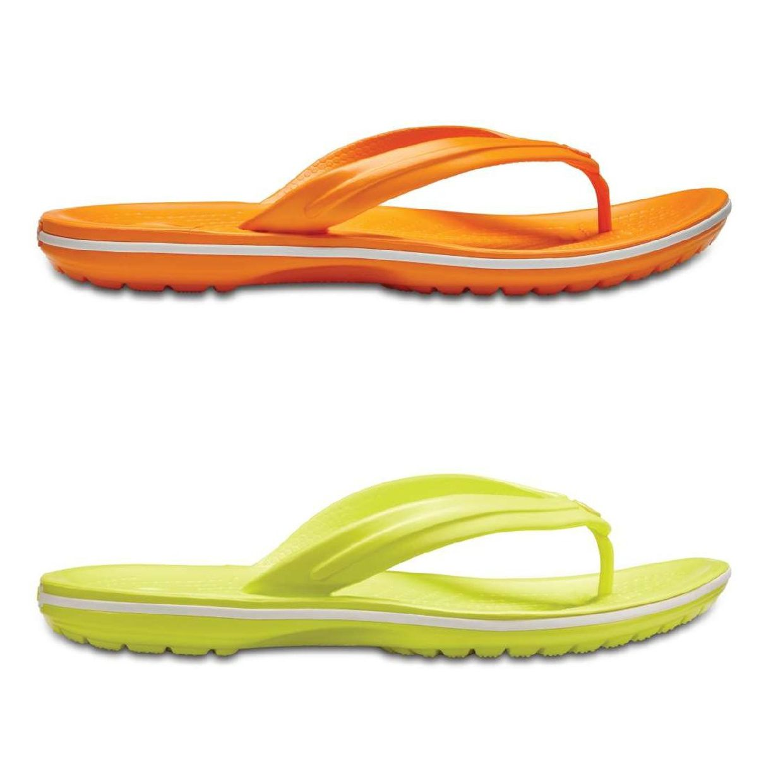 Crocs Crocband Flip Sandalen Zehentrenner Synthetik Unisex Schuhe FS18