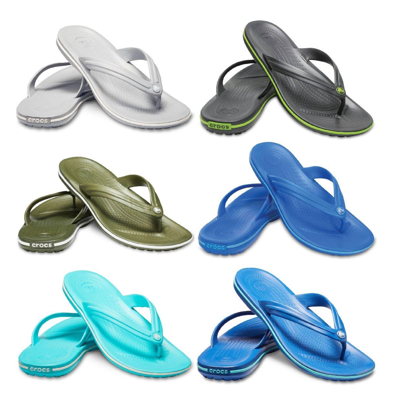Crocs Crocband Flip Clogs Hausschuhe Synthetik Unisex Schuhe FS19