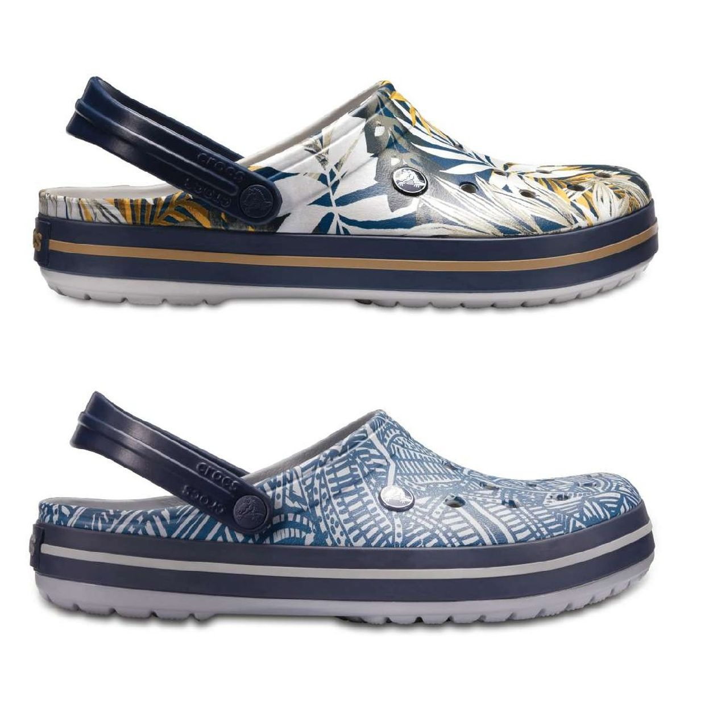 Crocs Crocband Graphic Clog Clogs Hausschuhe Synthetik Unisex Schuhe FS18