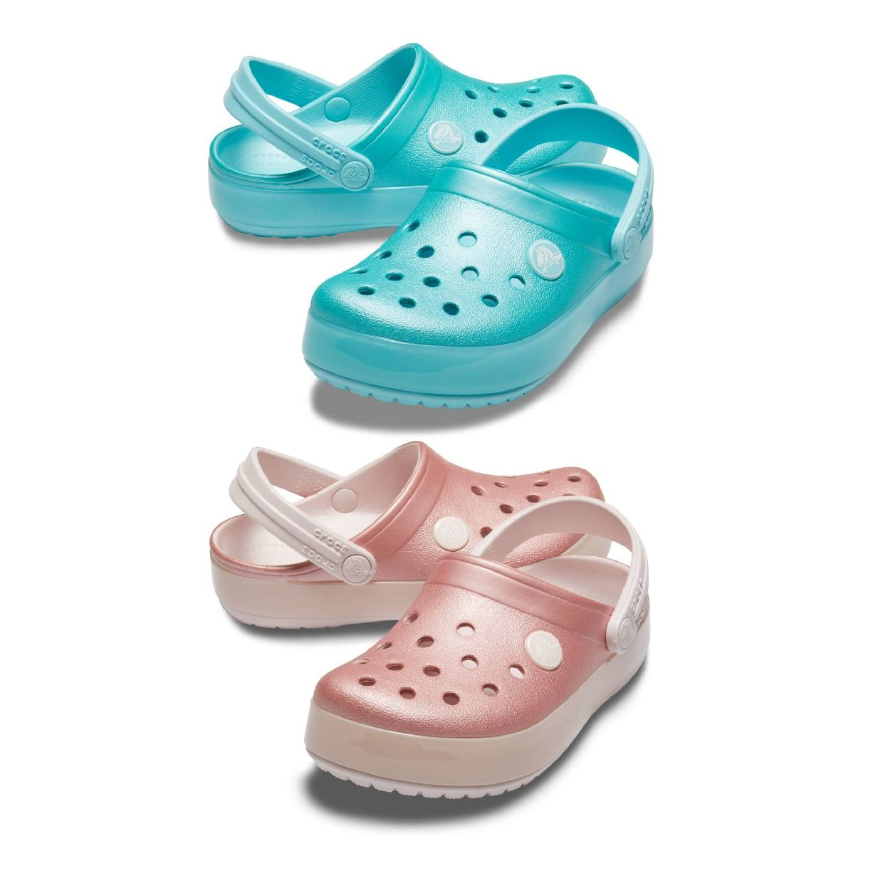 Crocs Crocband Ice Pop Clog Kids Clogs Hausschuhe Synthetik Kinder Schuhe FS19