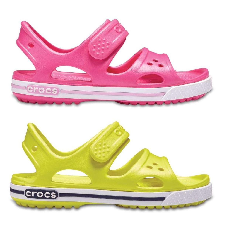 Crocs Crocband II Sandal Kids Sandalen Hausschuhe Synthetik Kinder Schuhe FS18