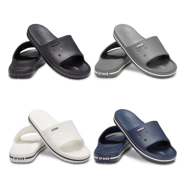 Crocs Crocband III Slide Clogs Hausschuhe Synthetik Unisex Schuhe FS19