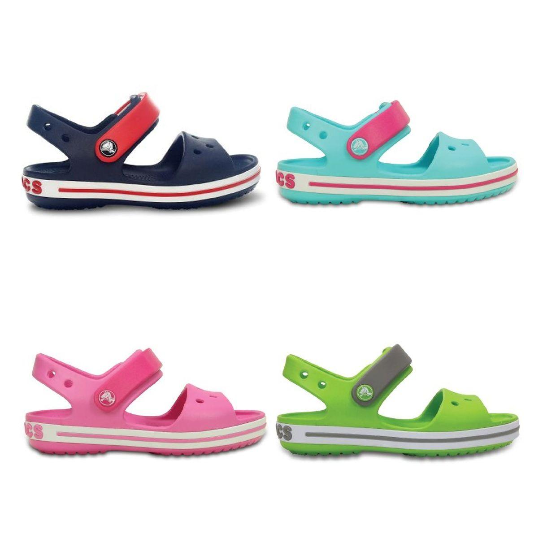 Crocs Crocband Sandal Kids Sandalen Hausschuhe Synthetik Kinder Schuhe FS17