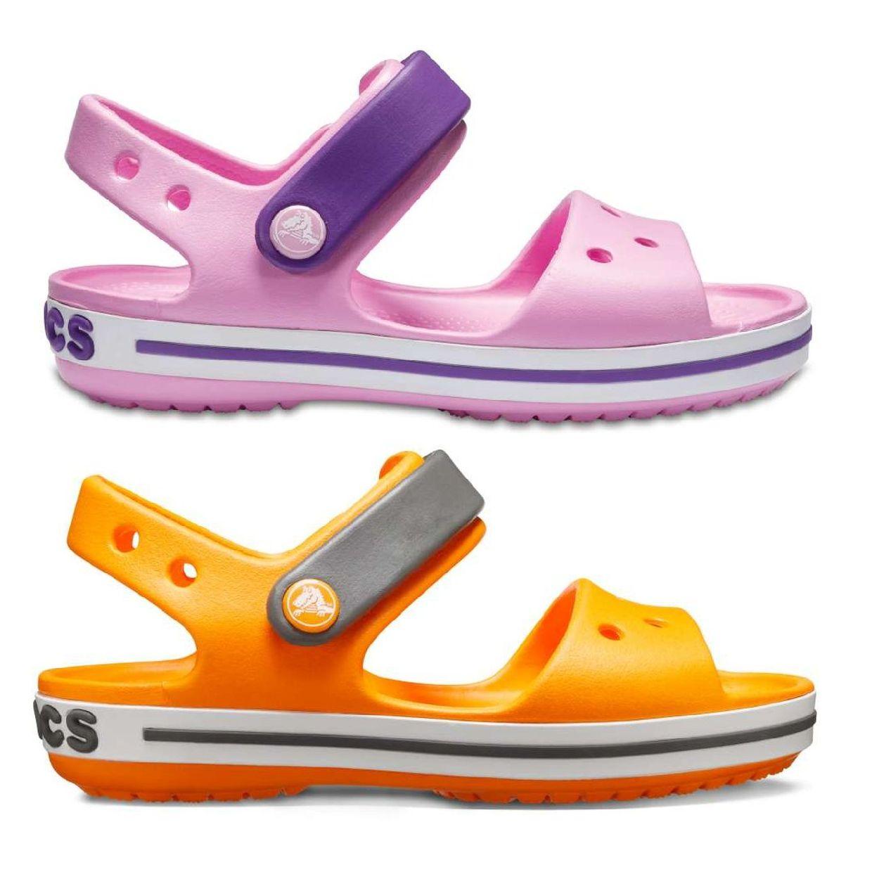 Crocs Crocband Sandal Kids Sandalen Hausschuhe Synthetik Kinder Schuhe FS18