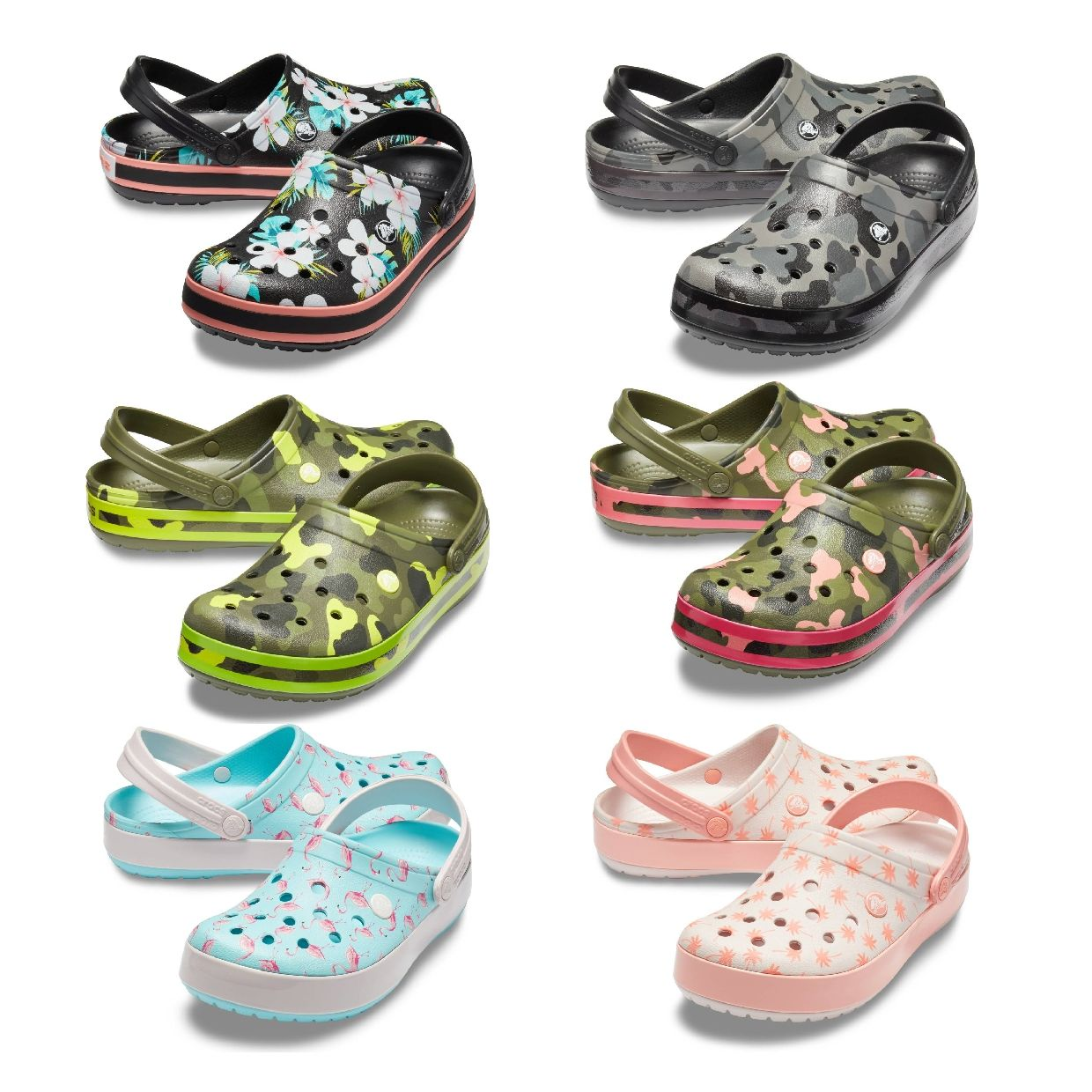 Crocs Crocband Seasonal Graphic Clog Clogs HausSynthetik Unisex FS19
