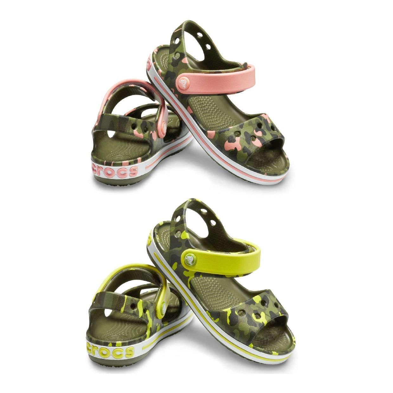 Crocs Crocband Seasonal Light Graphic Sandal Kids Clogs Synthetik Kinder FS19