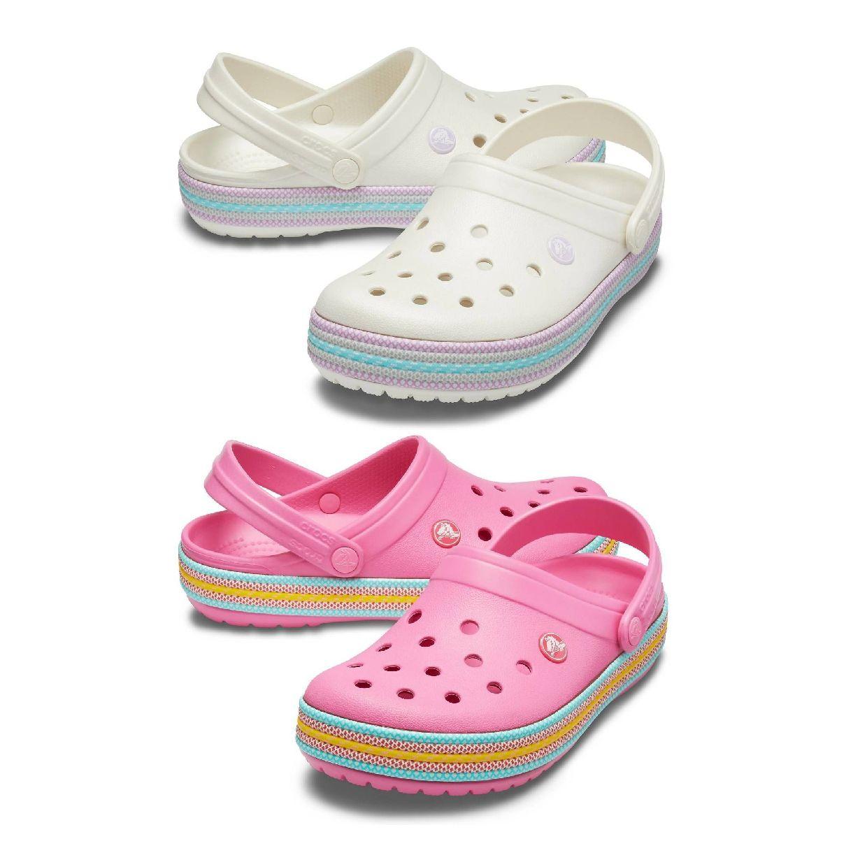 Crocs Crocband Sport Cord Clog Clogs Hausschuhe Synthetik Unisex Schuhe HW19