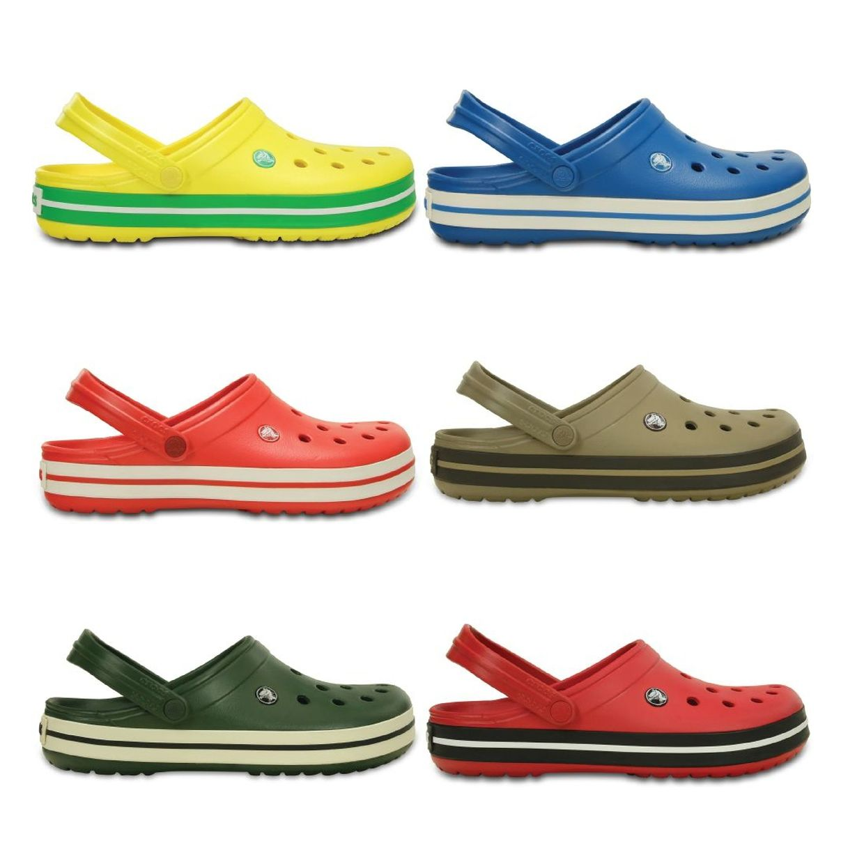 Crocs Crocband Clogs Hausschuhe Synthetik Unisex Schuhe FS13