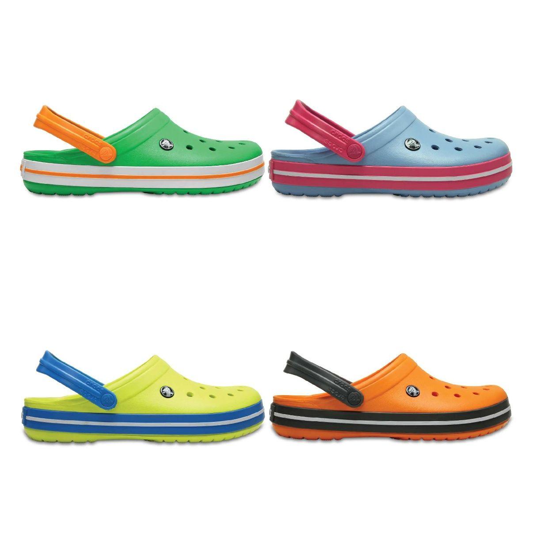 Crocs Crocband Clogs Hausschuhe Synthetik Unisex Schuhe FS18