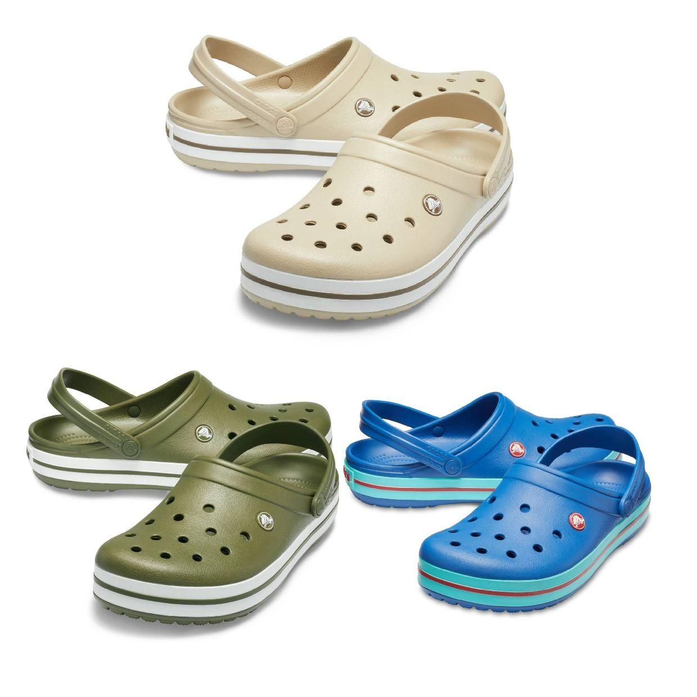 Crocs Crocband Clogs Hausschuhe Synthetik Unisex Schuhe FS19