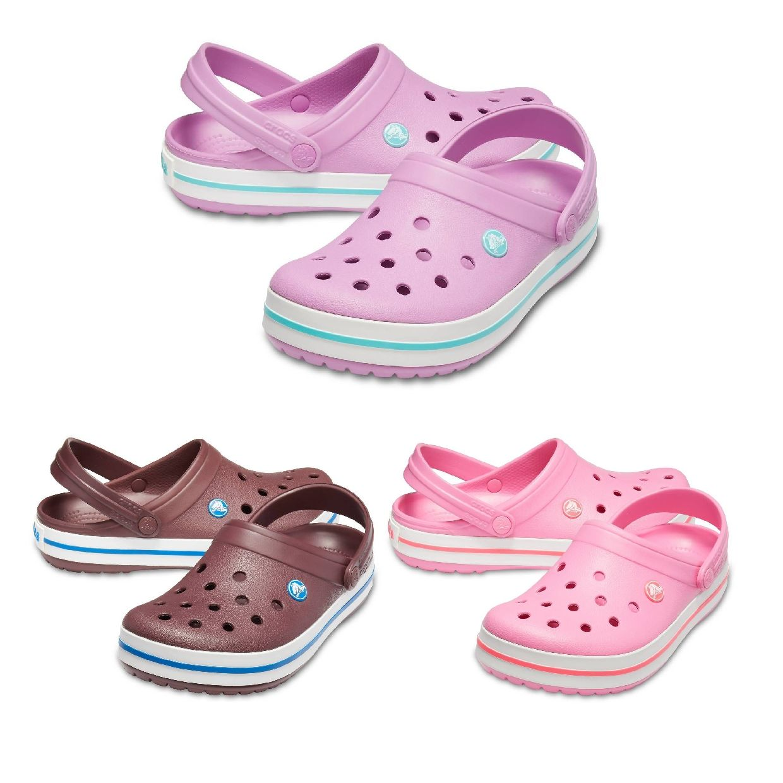 Crocs Crocband Clogs Hausschuhe Synthetik Unisex Schuhe HW19
