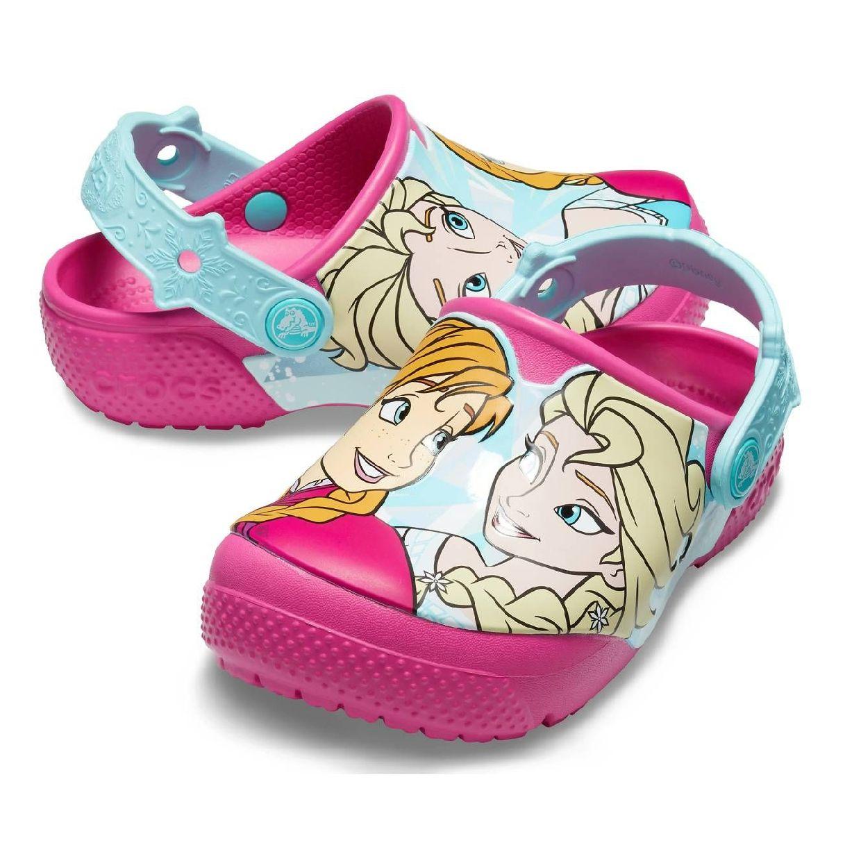 Crocs CrocsFL Anna Elsa Clog Kids Clogs Hausschuhe Synthetik Kinder Schuhe HW19