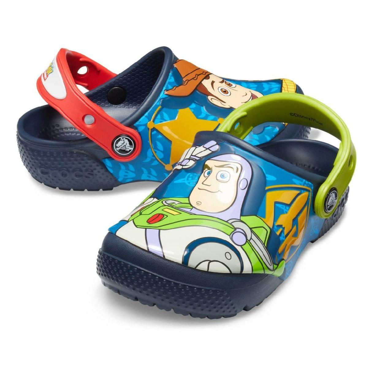 Crocs CrocsFL Buzz Woody Clog Kids Clogs Hausschuhe Synthetik Kinder Schuhe CO