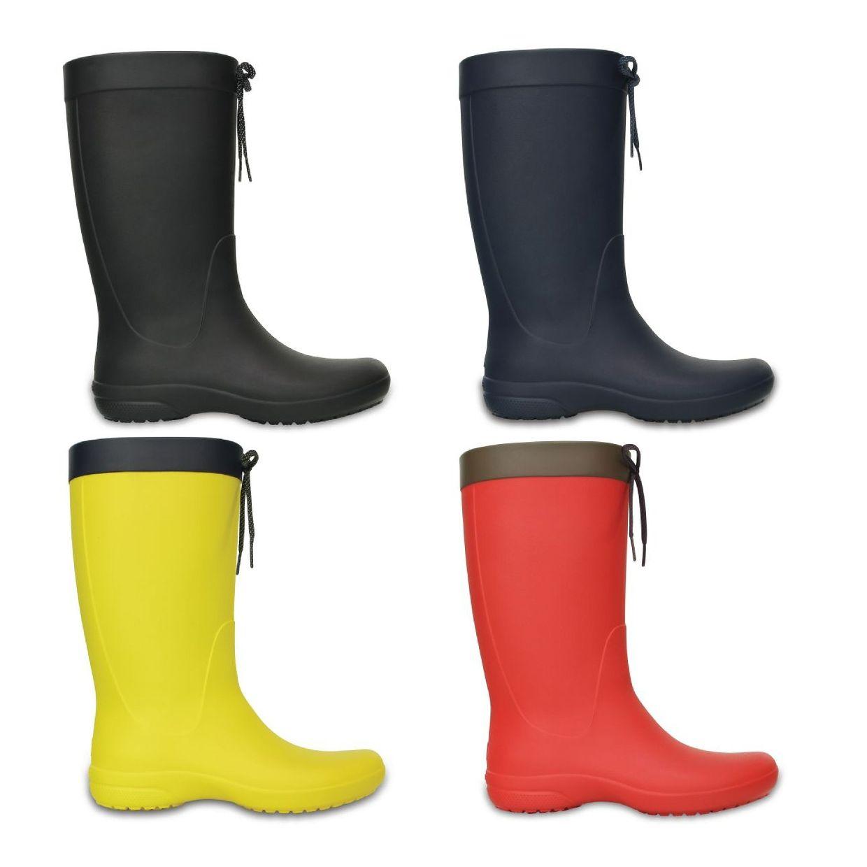 Crocs Freesail Rain Boot Women Gummistiefel Stiefel Synthetik Damen Schuhe HW16
