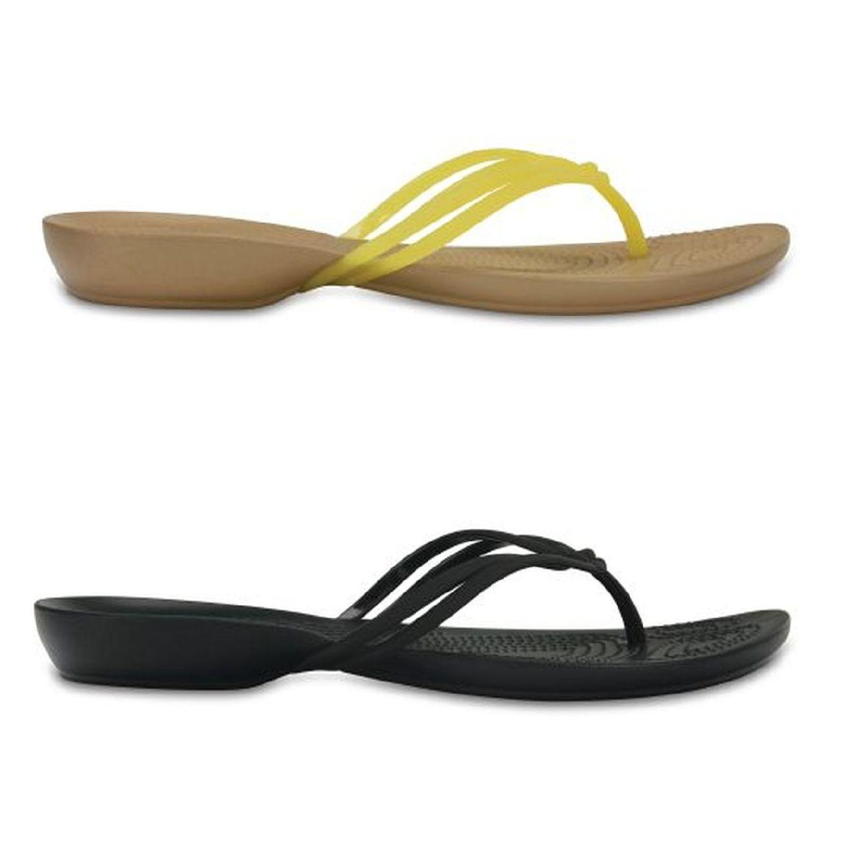Crocs Isbella Flip Women Sandalen Zehentrenner Synthetik Damen Schuhe FS17