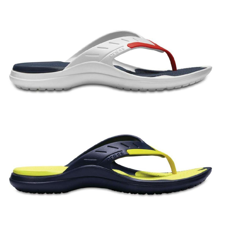 Crocs MODI Sport Flip Sandalen Zehentrenner Synthetik Unisex Schuhe FS18